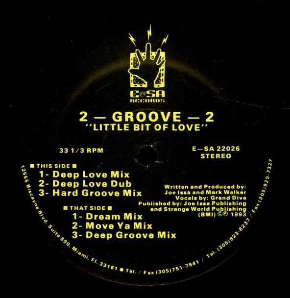 2 Groove 2 Little Bit Of Love Deep Love Mix Deep Love