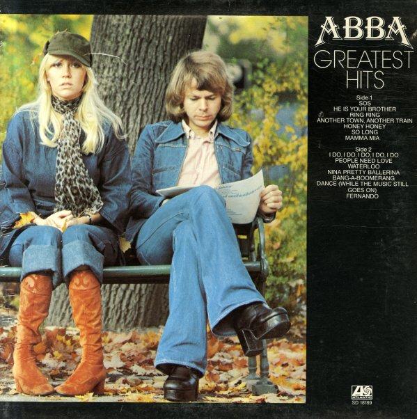 Abba Greatest Hits Lp Vinyl Record Album Dusty
