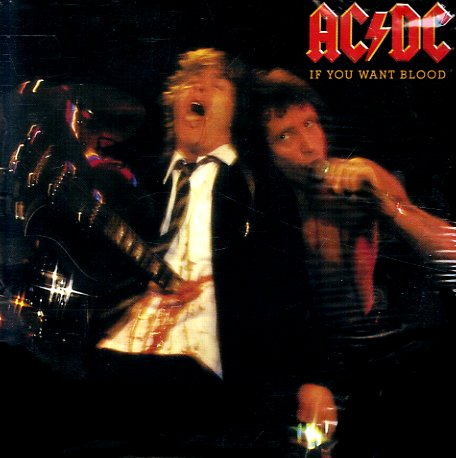 Ac Dc If You Want Blood You Ve Got It Lp Vinyl Record