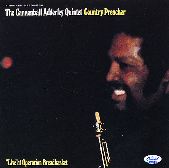 Image result for country preacher cannonball adderley single images