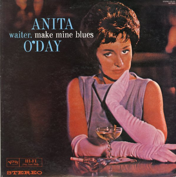 Anita O Day Waiter Make Mine Blues Lp Vinyl Record
