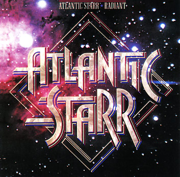 Atlantic Starr Radiant Lp Vinyl Record Album Dusty