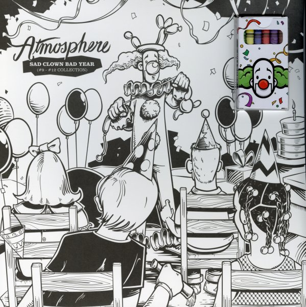 Atmosphere Sad Clown Bad Year 9 12 Collection 2LP Black