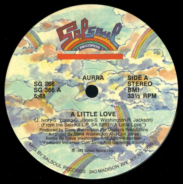 Aurra Little Love In My Arms 12 Inch Vinyl Record