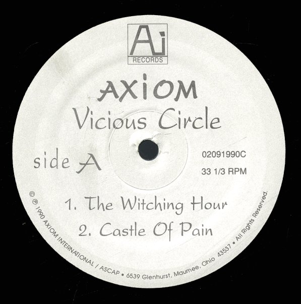 Axiom Vicious Circle Lp Vinyl Record Album Dusty