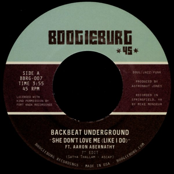 Backbeat Underground feat Aaron Abernathy : She Don't Love