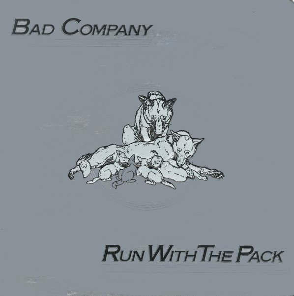 Bad Company Run With The Pack Lp Vinyl Record Album