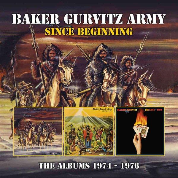 Since Beginning - The Albums 1974 to 1976 (Baker Gurvitz Army/Elysian  Encounter/Hearts On Fire/bonus tracks) (3CD set)