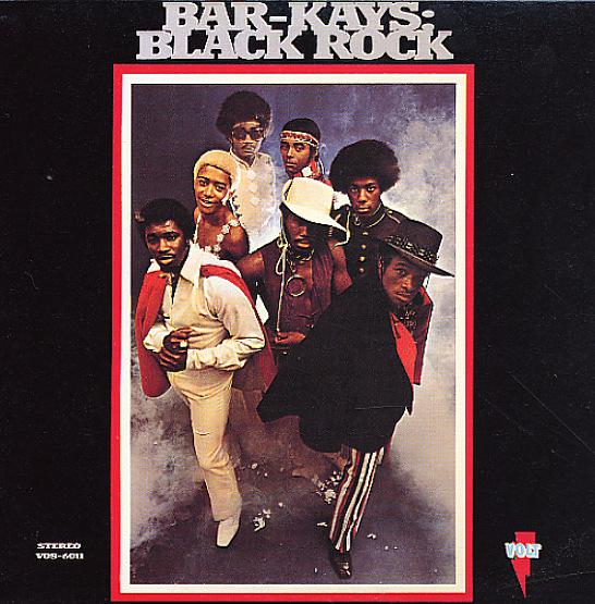 Bar Kays Black Rock Lp Vinyl Record Album Dusty