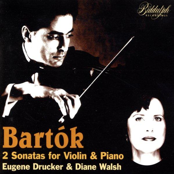 Sonatas For Violin & Piano - Eugene Drucker/Diane Walsh
