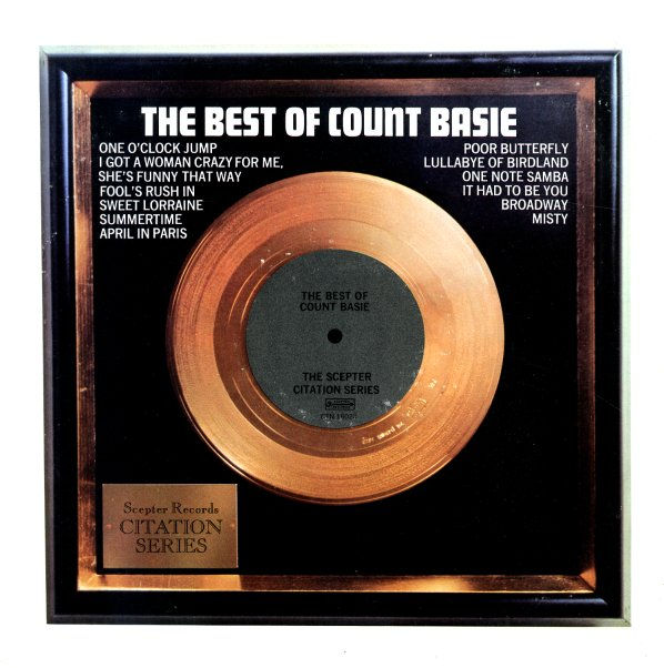 Count Basie : Best Of Count Basie (LP, Vinyl record album)