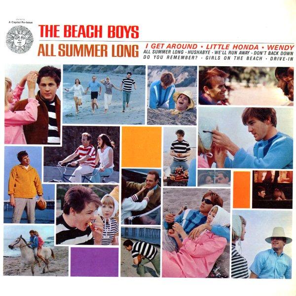 THE BEACH BOYS - ALL SUMMER LONG LYRICS