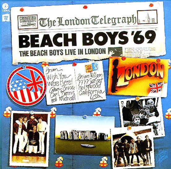 Beach Boys : Beach Boys 69 – Live In London (LP, Vinyl record album