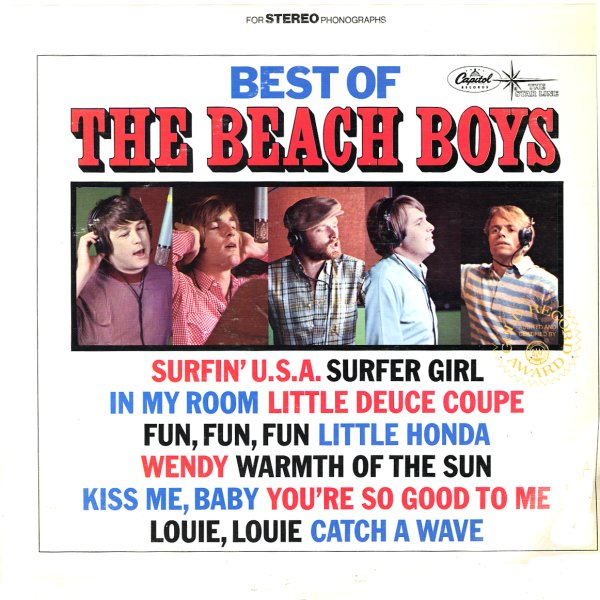 Beach Boys Best Of The Beach Boys Vol 1 Lp Vinyl