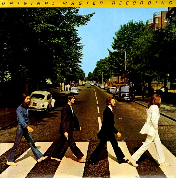 Beatles Abbey Road Original Master Recording Lp