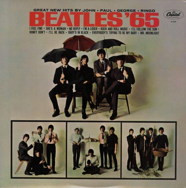 Beatles Beatles 65 Lp Vinyl Record Album Dusty