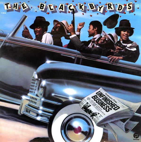 Blackbyrds Unfinished Business Lp Vinyl Record Album
