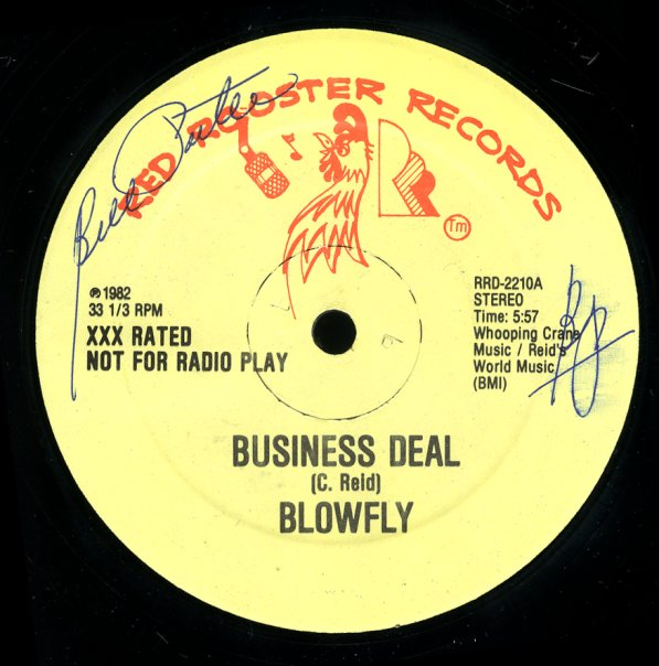 Blowfly Business Deal Clean Dirty 12 Inch Vinyl