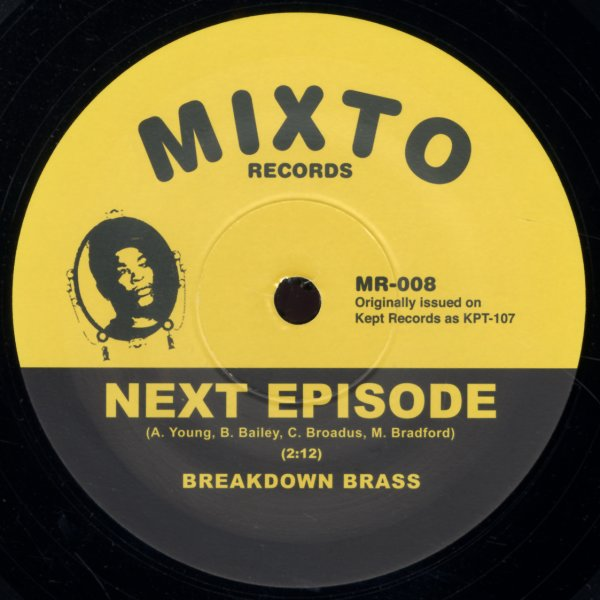 Breakdown Brass : Next Episode/Monmouth (7-inch, Vinyl
