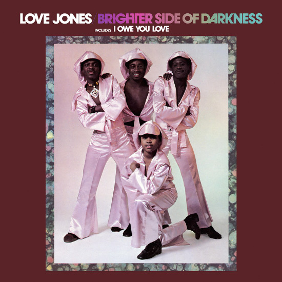 Brighter Side Of Darkness Love Jones Lp Vinyl Record