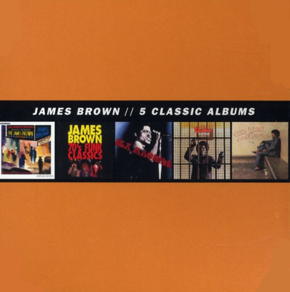 James Brown : Five Classic Albums (Live At The Apollo/70s Funk Classics/Sex Machine/Revolution Of The Mind/In The Jungle Groove) (5CD set) (CD) -- Dusty Groove is Chicago's Online Record Store James Brown : Five Classic Albums (Live At The Apollo/70s Funk Classics/Sex Machine/Revolution Of The Mind/In The Jungle Groove) (5CD set) (CD) - 웹