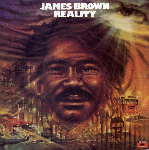 James Brown Reality Lp Vinyl Record Album Dusty