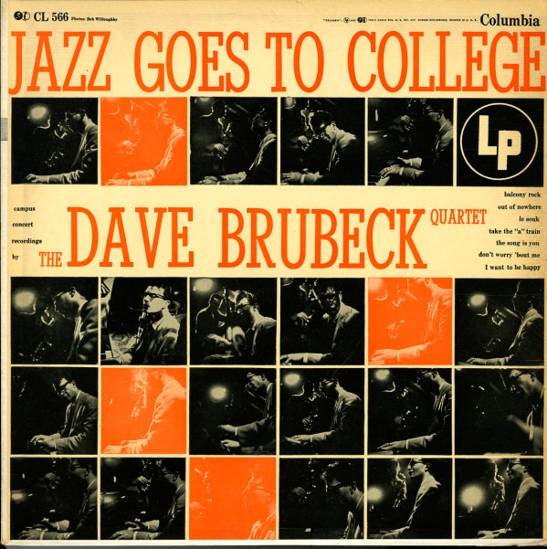 Dave Brubeck Jazz Goes To College Lp Vinyl Record