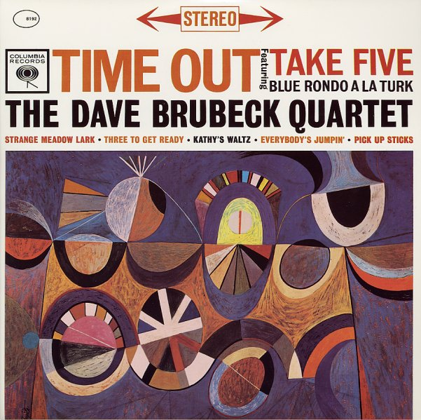Dave Brubeck Time Out Lp Vinyl Record Album Dusty