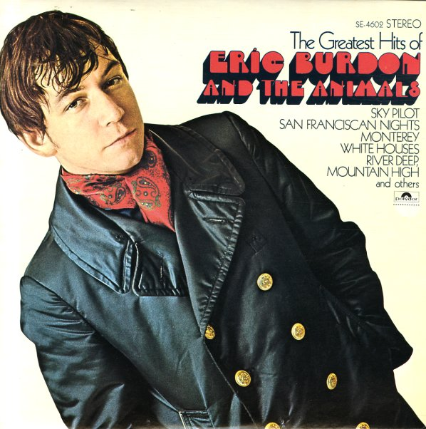 Eric Burdon Amp The Animals Greatest Hits Of Eric Burdon