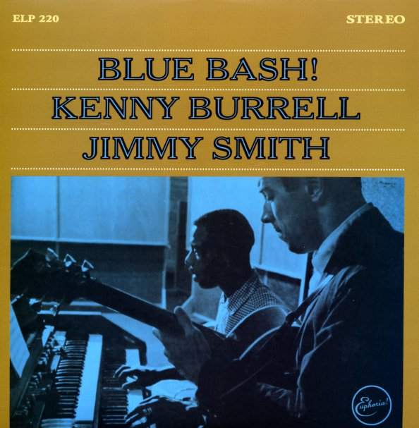 Kenny Burrell Amp Jimmy Smith Blue Bash Lp Vinyl Record