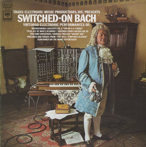 Walter Carlos Switched On Bach Virtuoso Electronic