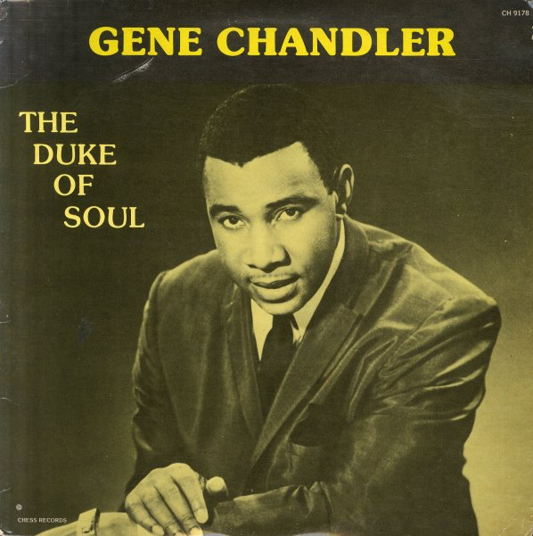 Gene Chandler Duke Of Soul 80s Pressing Lp Vinyl