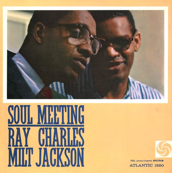 Ray Charles Amp Milt Jackson Soul Meeting Lp Vinyl