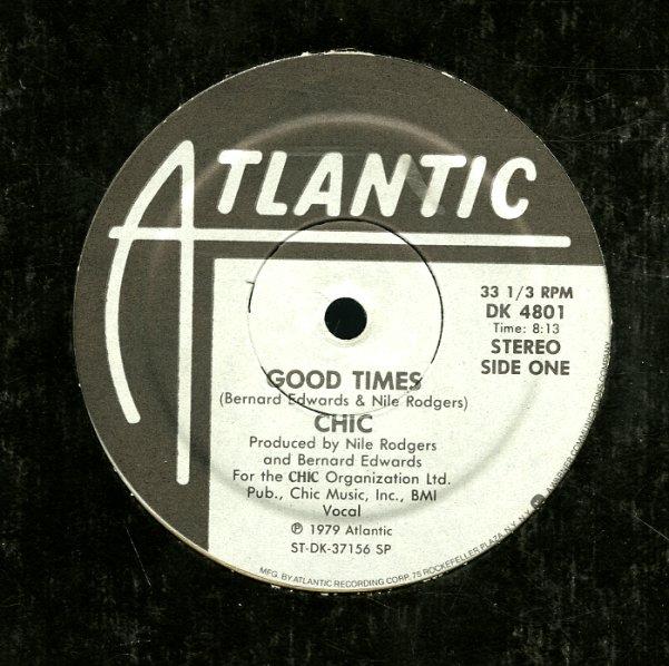 Chic Good Times Warm Summer Night 12 Inch Vinyl Record
