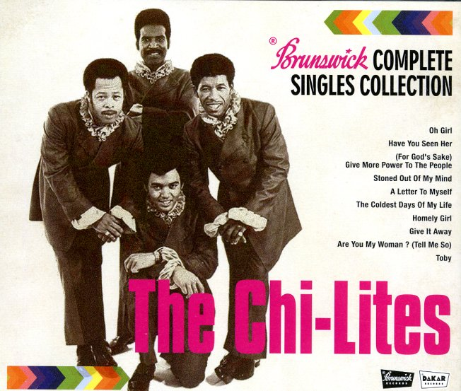 Chi Lites Brunswick Complete Singles Collection 3cd Set