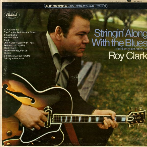 Roy Clark Stringin Along With The Blues Lp Vinyl