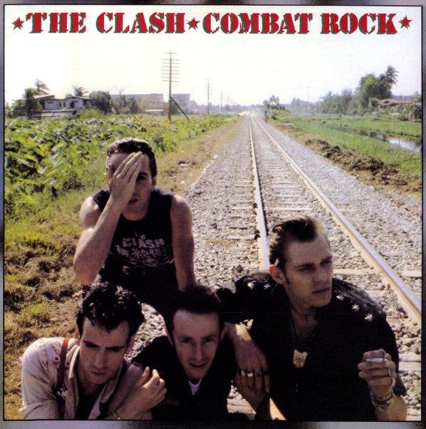 Clash Combat Rock Lp Vinyl Record Album Dusty