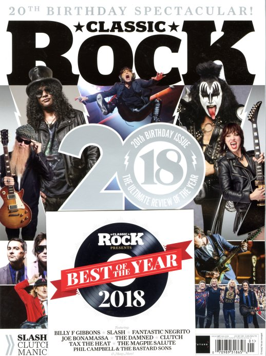 Classic Rock : Issue 257 – January 2019 – 20th Birthday Issue (with