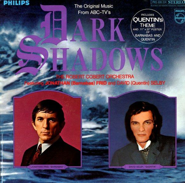 Robert Cobert Dark Shadows Original Tv Soundtrack Lp
