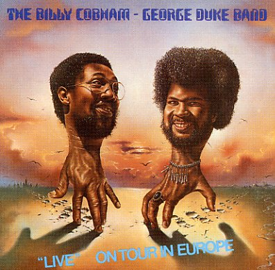 Billy Cobham George Duke Band Live On Tour In Europe Lp