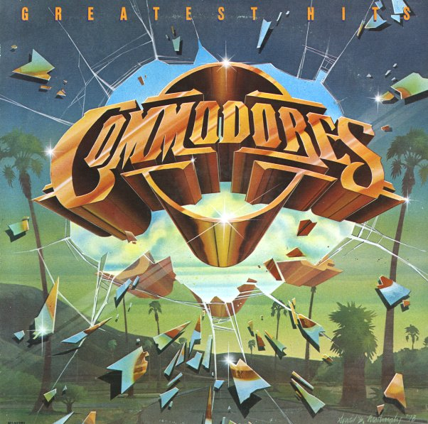Commodores Greatest Hits Lp Vinyl Record Album