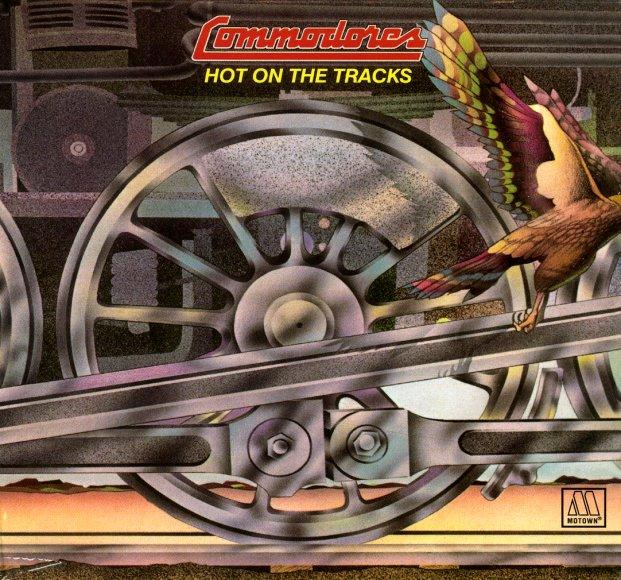 Commodores Hot On The Tracks Lp Vinyl Record Album