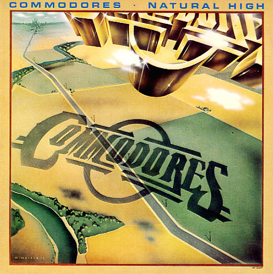 Commodores Natural High Lp Vinyl Record Album