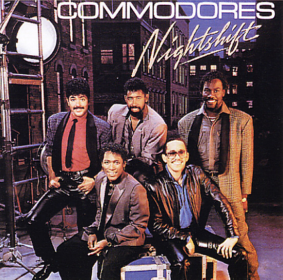 Commodores Nightshift Lp Vinyl Record Album Dusty