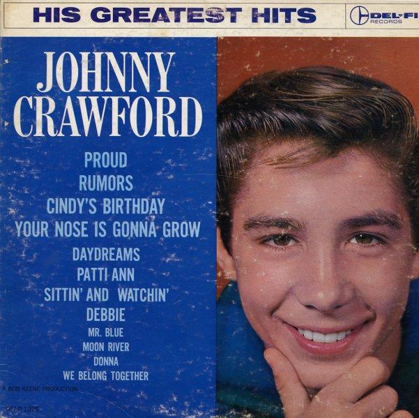 Johnny Crawford His Greatest Hits Lp Vinyl Record