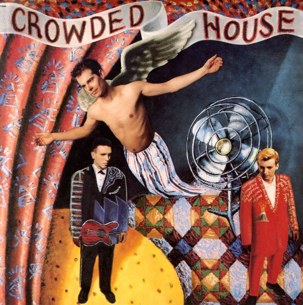 Image result for crowded house vinyl art