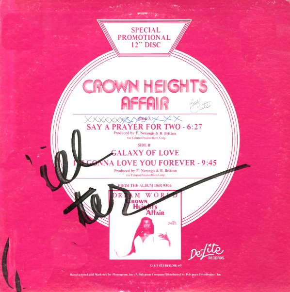 Crown Heights Affair Say A Prayer For Two