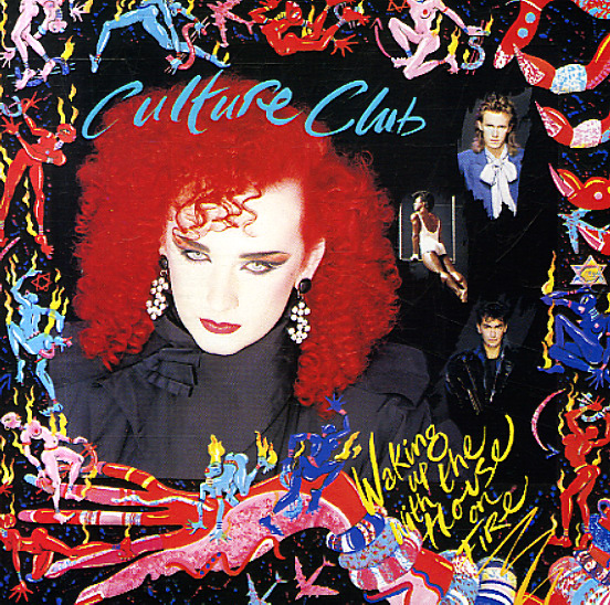 Culture Club Waking Up With The House On Fire Lp Vinyl