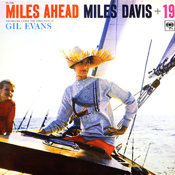 Miles Davis Miles Ahead First Cover Lp Vinyl Record