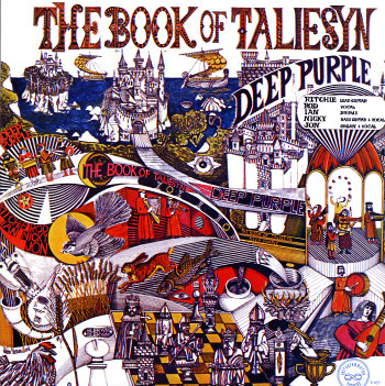 Deep Purple Book Of Taliesyn Lp Vinyl Record Album